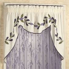 Blue Swag Curtains Swag Valances Touch Of Class