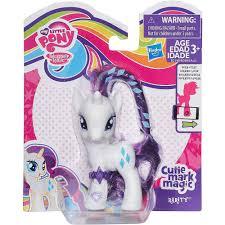 my little pony cutie mark magic rarity figure walmart com