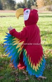 Bird Halloween Costume Parrot Costume 8sew Easy Parrot Costume Perfect Halloween