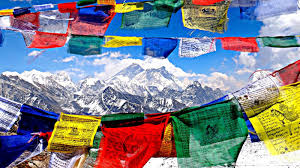 Small Prayer Flags Here U0027s What The Different Colours Of The Buddhist Prayer Flags Signify