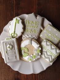 housewarming cookies 18 best cookies house images on decorated cookies