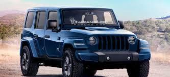 price for jeep wrangler 2018 jeep wrangler jl release date price engine interior
