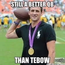 Tebow Meme - better qb than tebow meme
