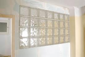 brique de verre cuisine cuisine cloison en briques de verre bricolage avec robert cloison