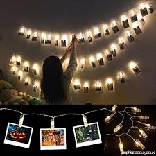 string lights with picture clips photo clip string light 40 clear clips 13 ft warm white for fairy
