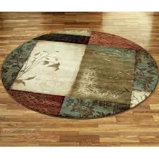 Round Pink Rugs by Zoom Round Red Floral Rug Round Floral Rug Round Pink Floral Rug