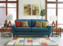 Queen Sofa Sleepers by Buy Sagen Teal Queen Sofa Sleeper By Signature Design From Www