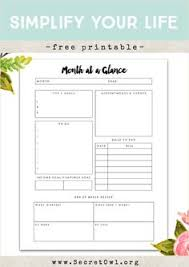 freebie friday hello month printable set your goals owl and