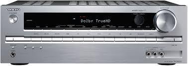 onkyo home theater receiver tx sr333 5 1 channel 325w 3d 4k uhd bluetooth home cinema av receiver