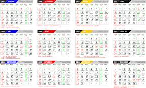 Gambar Kalender 2018 Lengkap Jadwal Hari Libur Nasional 2015 Hari Libur S