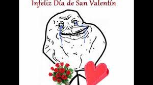 Memes De Forever Alone - infeliz san valentín forever alone youtube