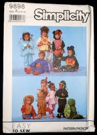 Toddler Halloween Costume Patterns Toddlers Halloween Costume Patterns Simplicity Virtualvintage