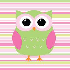 Pink And Green Nursery Decor Owl Nursery Print Woodland Nursery Decor Pink And