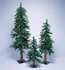 set of 3 trees decor