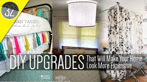diy cheap home decorating ideas 32 cheap and easy home decor diy youtube