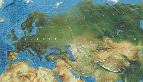 Europe World Map by Satellite World Map Wall Maps