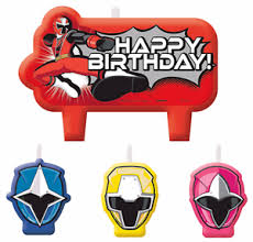 power rangers cake toppers power rangers steel mini candles boys birthday party