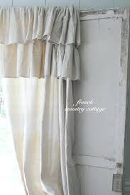 Cottage Shower Curtains Dreamy French White Lace Luxury Shower Curtains French Country