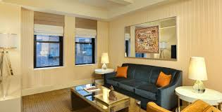 livingroom suites luxury hotel suites in nyc one bedroom suite the benjamin