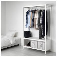 Wardrobe by Hemnes Open Wardrobe White Stained Ikea