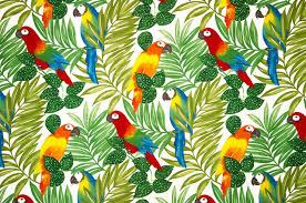 Hawaiian Curtain Fabric Tropical Fabric Houzz