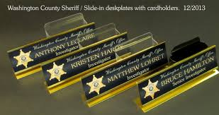 custom desk nameplates