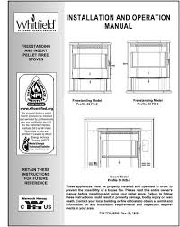 Lennox Gas Fireplace Manual by Pellet Stove Manuals