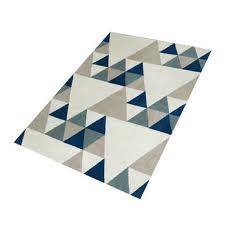 conforama tapis chambre tapis 120 x 170 cm oslo coloris bleu vente de tapis moyenne et