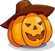 free jack o lantern clipart clipart pumpkin in a hat