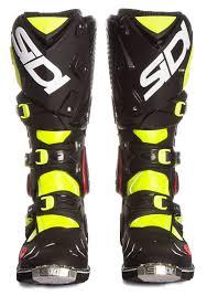 sidi motocross boots sidi mx boots crossfire 2 yellow fluo black 2017 maciag offroad