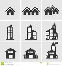 house building icon stock vector image 54267508