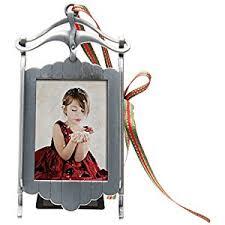photo ornament sled frame home kitchen