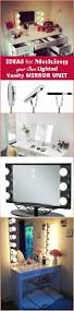 Diy Makeup Vanity Mirror With Lights 20 Diy Makeup Vanity Tutorials Diy Your Own Makeup Vanity Table