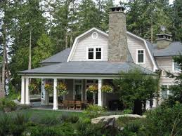 Gambrel Style Roof Cottage Patio With Gambrel Roof By Patrick Brennan Zillow Digs