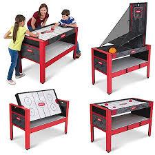 20 in 1 game table majik 48in 5 in 1 swivel table