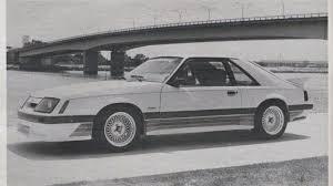 1985 saleen mustang introducing the 1985 saleen mustang gt autoweek