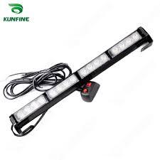 car 4 4w led strobe light bar car warning light car flashlight led