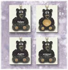 swibco minature ornaments personalized bears ornaments