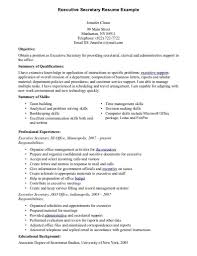 Resume Reviewer Resume For Secretary Resume Templates