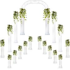 wedding arches and columns wholesale complete wedding package columns wedding arch events