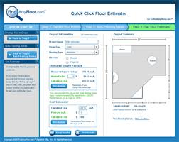 flooring estimator by findanyfloor com