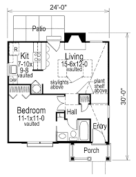 cottage 1 beds 1 baths 576 sq ft plan 57 267 main floor plan