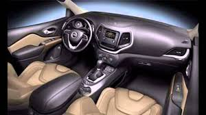 cherokee jeep 2016 2016 jeep cherokee interior youtube