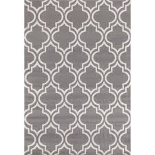 Modern Moroccan by World Rug Gallery Modern Moroccan Trellis Gray Yellow 2 Ft X 7 Ft