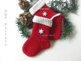 knitting pattern for christmas stocking free small christmas stocking knitting pattern tuscany decor