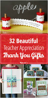 32 beautiful teacher appreciation thank you gifts tutorials