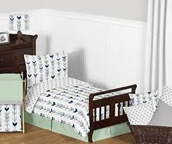 jojo designs fitted crib sheet for grey navy blue and mint