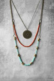 boho necklace set images Layered necklace boho necklace layered necklace set hippie jpg