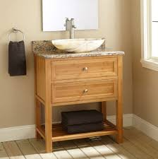 bathroom narrow depth bathroom vanity with granite countertop