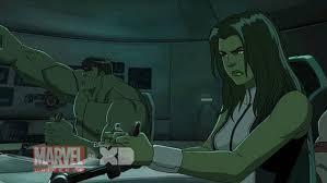 hulk agents cartoon avengers marvel hq